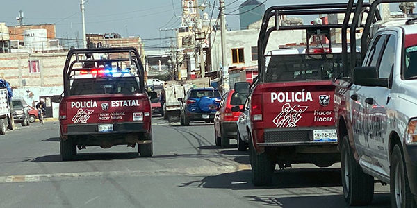 Impresionante operativo policíaco