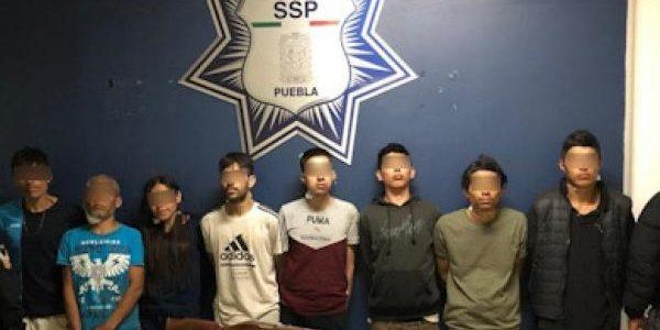 """Ocho operadores de """"Angelinos 13"""", detenidos"""