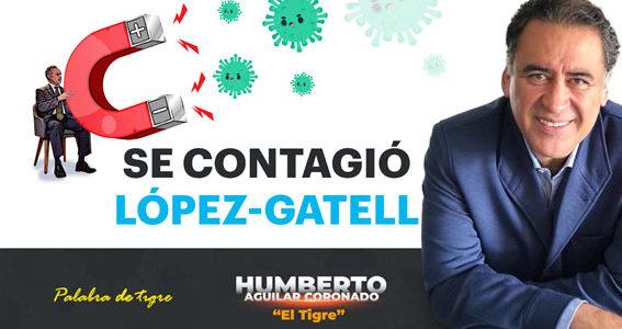 Se contagió López-Gatell