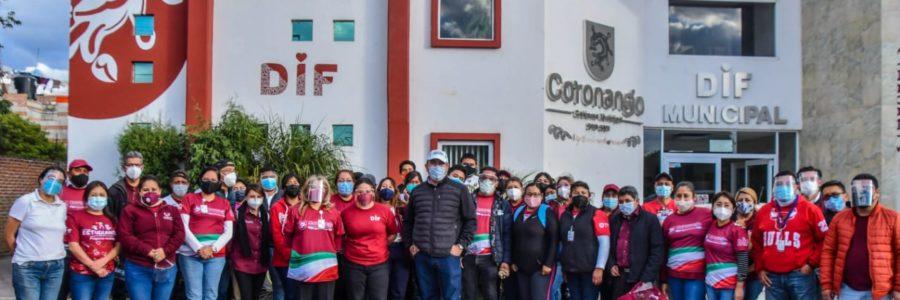 Puebla Contigo lega a familias de Coronango