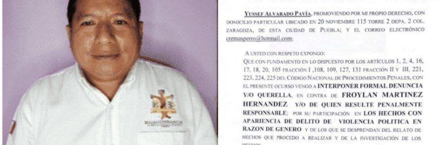 Ayuntamiento de Huauchinango obliga y presiona a empleados a firmar en contra de Liliana Luna