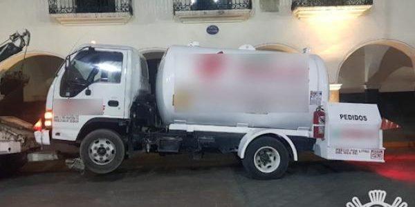 Policía Estatal y de Huejotzingo capturan a dos presuntos huachigaseros