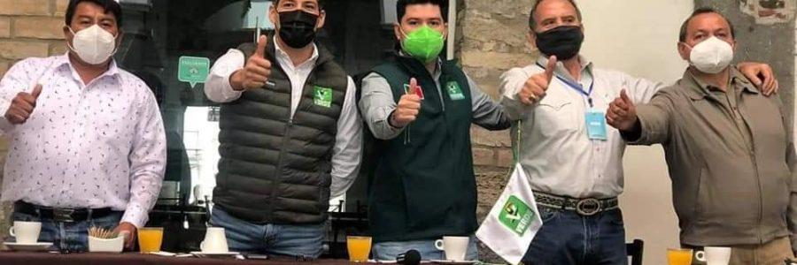 Presentan a aspirantes del partido verde ecologista de México por el distrito 12 con cabecera en el municipio d e Amozoc