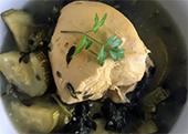 Pechuga de pollo con verdolagas