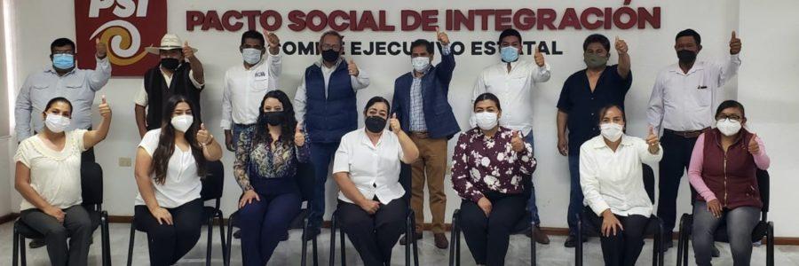 PSI y CPP arropan a Inés Saturnino como su candidato a presidente municipal de Tecamachalco Puebla