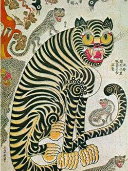Los niños y el tigre