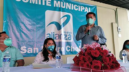 Lupita Tiro, candidata de Nueva Alianza