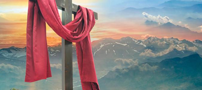 En la Cruz del Calvario