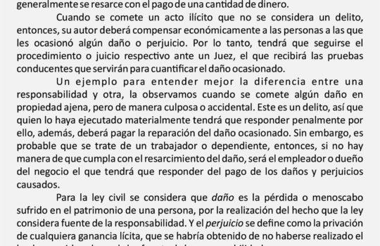 Responsabilidad Penal y Responsabilidad Civil