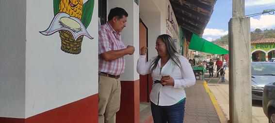 Mary Carmen Maldonado, del Verde en Ahuazotepec presenta plan de trabajo y planilla de regidores