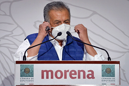 Notifican al diputado Saúl Huerta inicio de proceso de desafuero