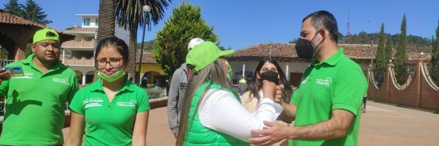 Presenta Mary Carmen Maldonado sus compromisos del medio ambiente y protección animal en Ahuazotepec
