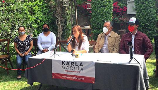Seremos la voz del ciudadano: Karla García