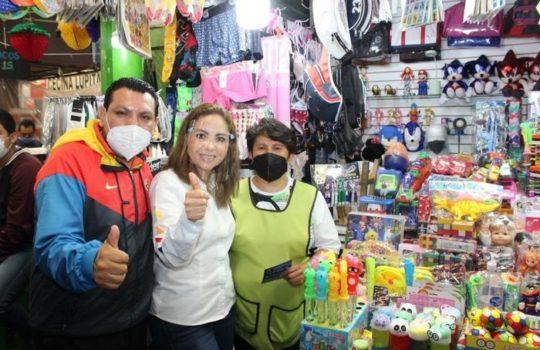 Mercado Cosme del Razo se suma a proyecto de Paola Angon