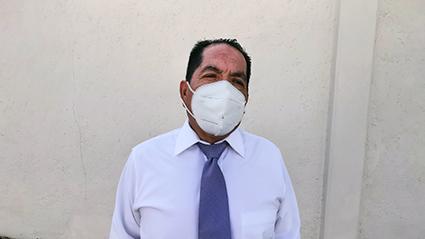 Como Delegado Solidario, está Andrés Cadena Zamora