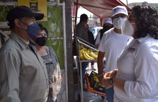 Combate a la corrupción y mayor seguridad, prioridad para San Andrés: Karina Pérez Popoca
