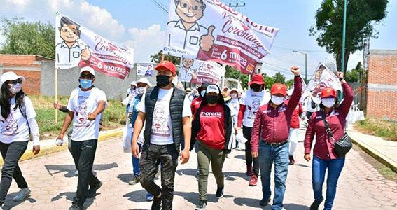 Seguirán acciones en favor de la educación en Coronango, anunció Toño Teutli