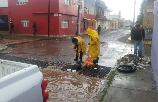 Atendió gobierno de San Pedro Cholula a vecinos afectados por lluvia