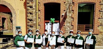 Reconocimiento a personal médico de IMSS Metepec