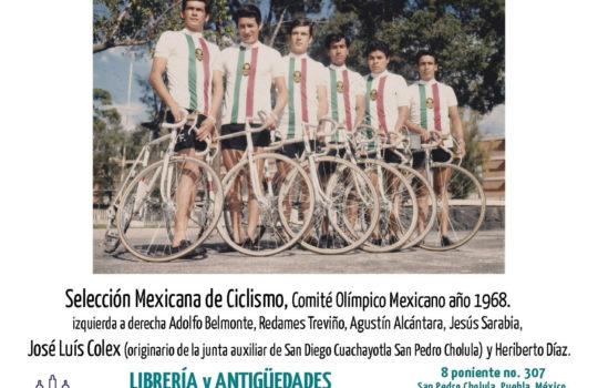 José Luis Colex, en la Selección Mexicana de Ciclismo