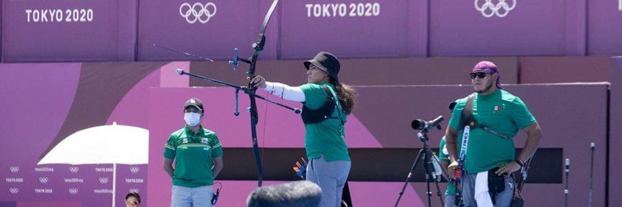 México gana la medalla de bronce en Tiro con Arco Mixto, primera en Tokyo 2020
