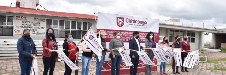 Se mantendrá inversión en educación en Coronango: Toño Teutli