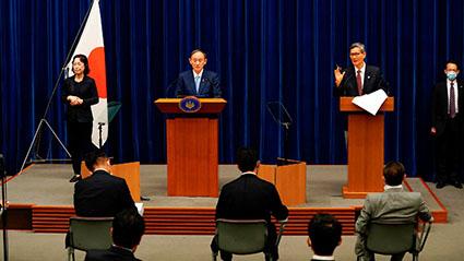 Japón extiende confinamiento por COVID-19 ante aumento de casos por variante Delta