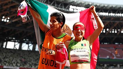 Mónica Rodríguez gana histórica medalla 100 de oro para México en Paralímpicos