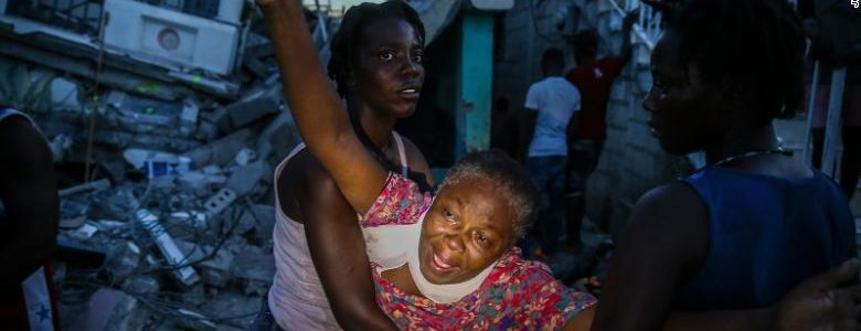 Aumentan a 1,419 los muertos tras sismo registrado en Haití