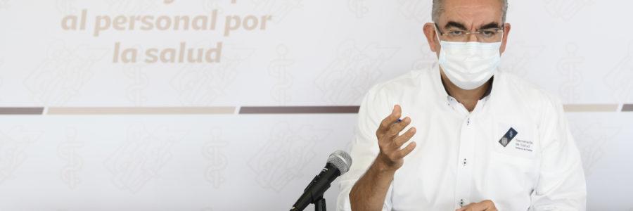 Registra Puebla índice de positividad por arriba del 50% en casos COVID-19