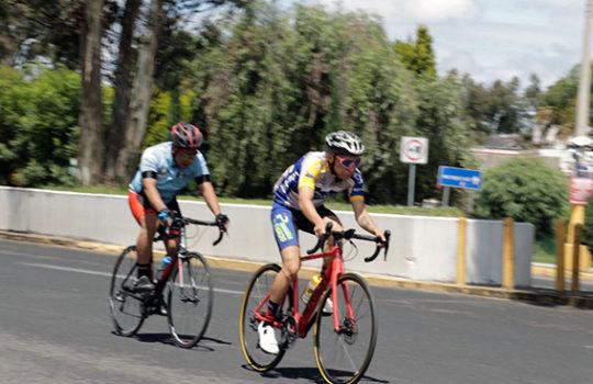 Carrerea ciclista, cerró recta Puebla-Cholula