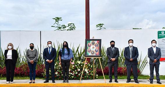 Toño Teutli encabeza ceremonia por la gesta heroica de los Niños Héroes de Chapultepec