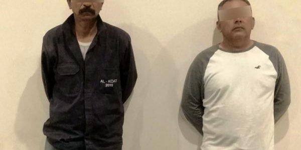 Policía Estatal detiene a dos presuntos narcomenudistas