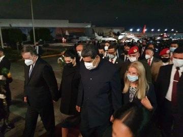 Nicolás Maduro llega a la CDMX, participará en la Cumbre de la CELAC