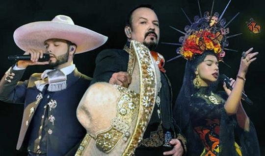 Pepe, Leonardo y Ángela Aguilar dan concierto GRATIS para festejar el 15 de septiembre; cómo verlo EN VIVO