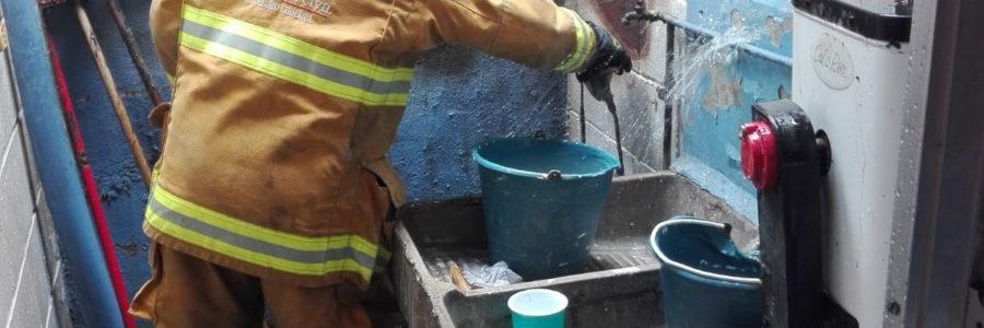 Fuga de gas alertó a vecino den Manantiales
