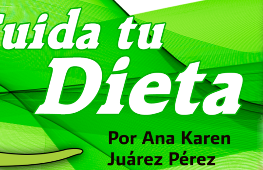 Cuidando tú Dieta
