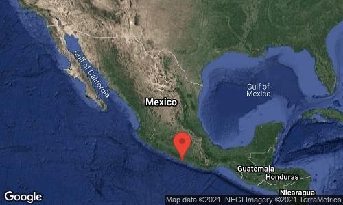 Temblor de 6.9 grados, en Guerrero. Se sintió en Cholula.