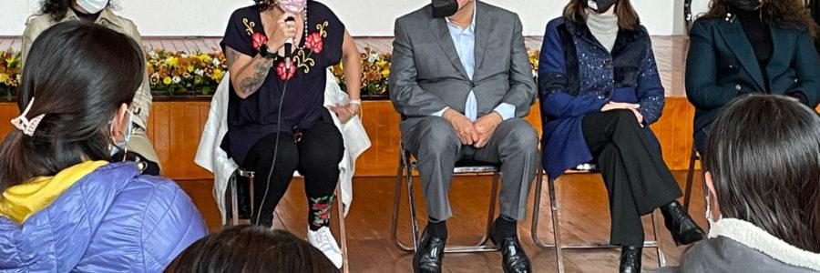 En Zacatlán se trabajará con respeto e inclusión de las mujeres: Pepe Márquez