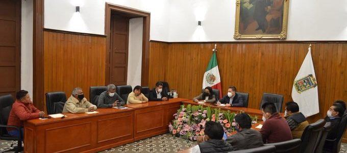 Presidentes auxiliares, se reúnen con el nuevo gobierno