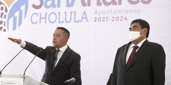 Recoger y ejecutar la voluntad ciudadana, sugiere MBH a San Andrés Cholula